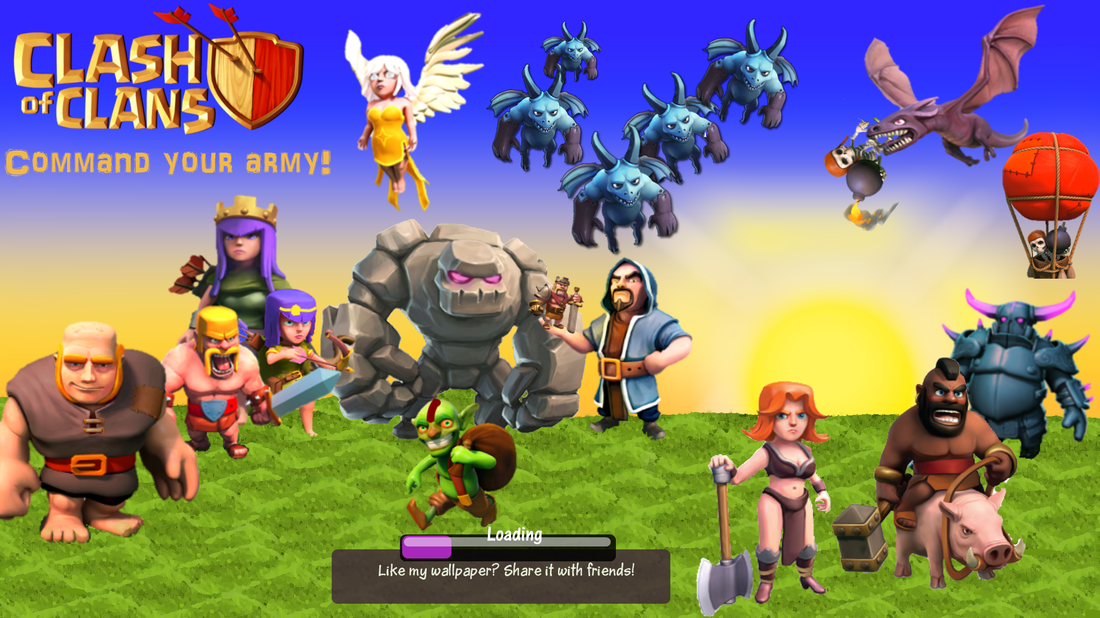 Clash Of Clans Website By Cheifth Clash On Welcome